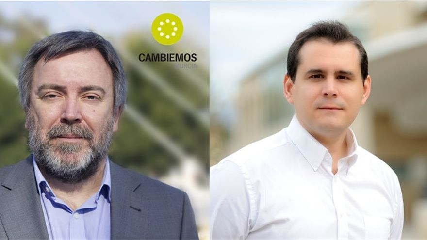 Nacho Tornel y Sergio Ramos, de IU-V a Cambiemos Murcia