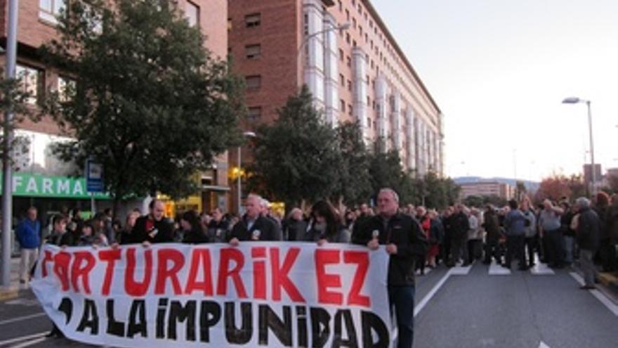 Manifestación En Contra De La Tortura.