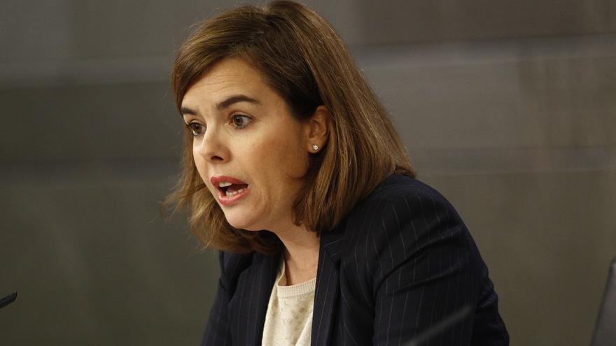 Sáenz de Santamaría dice sobre los datos del sondeo andaluz que la encuesta que importa es el día de las elecciones