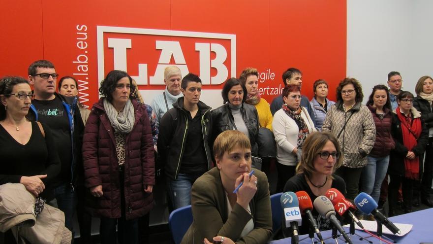 """Etxaide (LAB) dice que el nuevo Gobierno vasco no dará """"respuestas positivas"""" y seguirá haciendo """"las mismas políticas"""""""