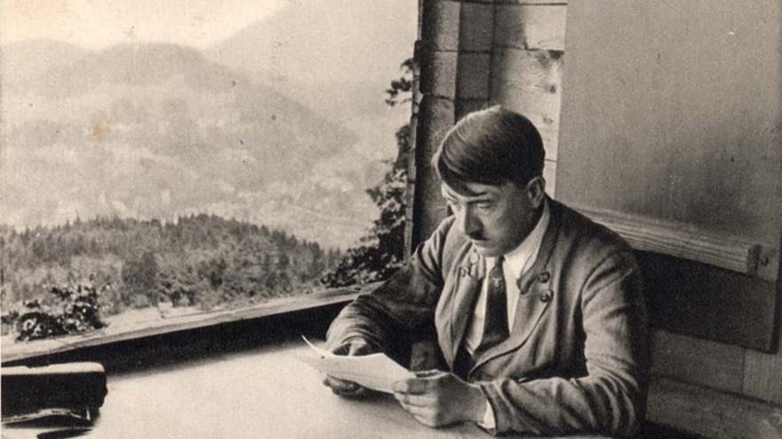 Adolf Hitler en su casa