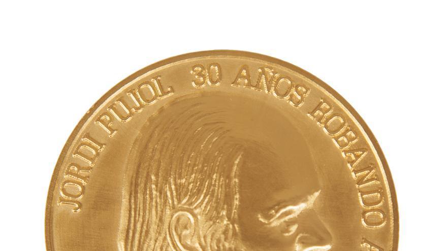 """Moneda conmemorativa"", de Eugenio Merino"