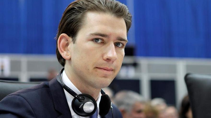 Sebastian Kurz, nuevo líder del Partido Popular austríaco