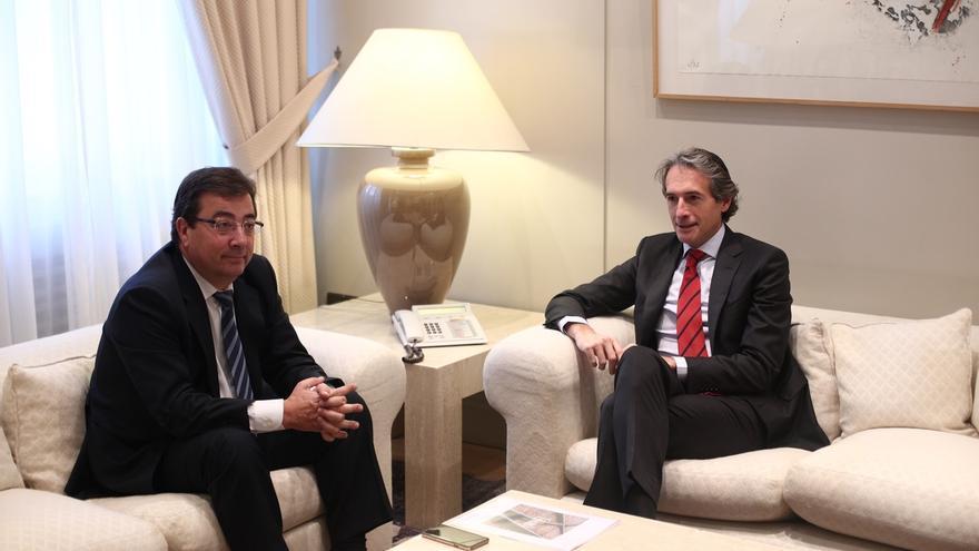 """Fomento se compromete a agilizar las obras para que el AVE a Extremadura llegue """"lo antes posible"""""""