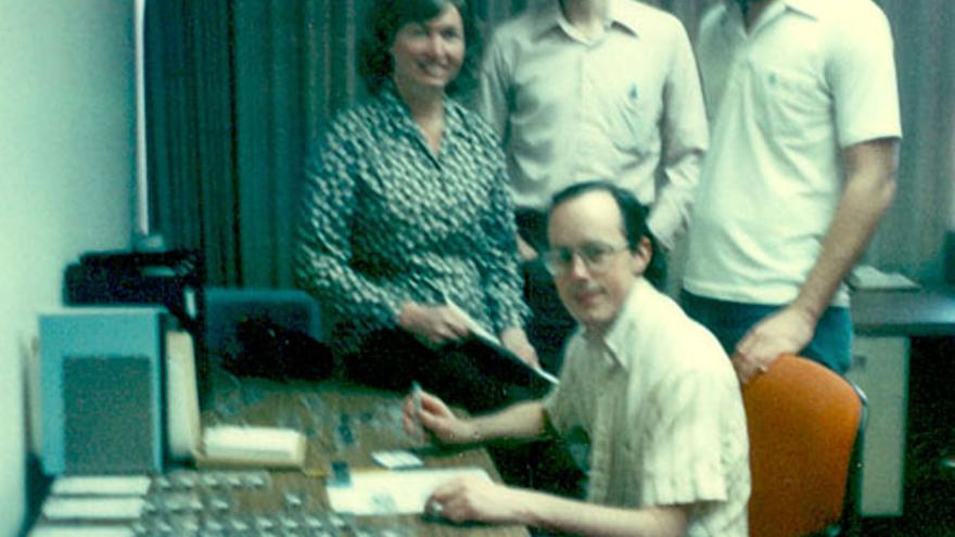 Lynn Conway con sus compañeros de Xerox PARC en los 70
