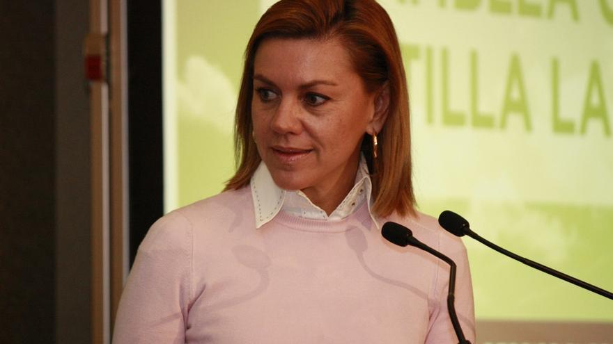 """Cospedal dice que partidos como Podemos """"son muy peligrosos, no para el PP sino para la democracia"""""""
