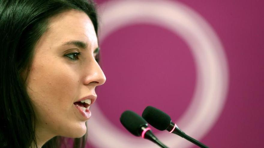 """Irene Montero: """"Estamos disponibles para negociar en serio la coalición"""""""