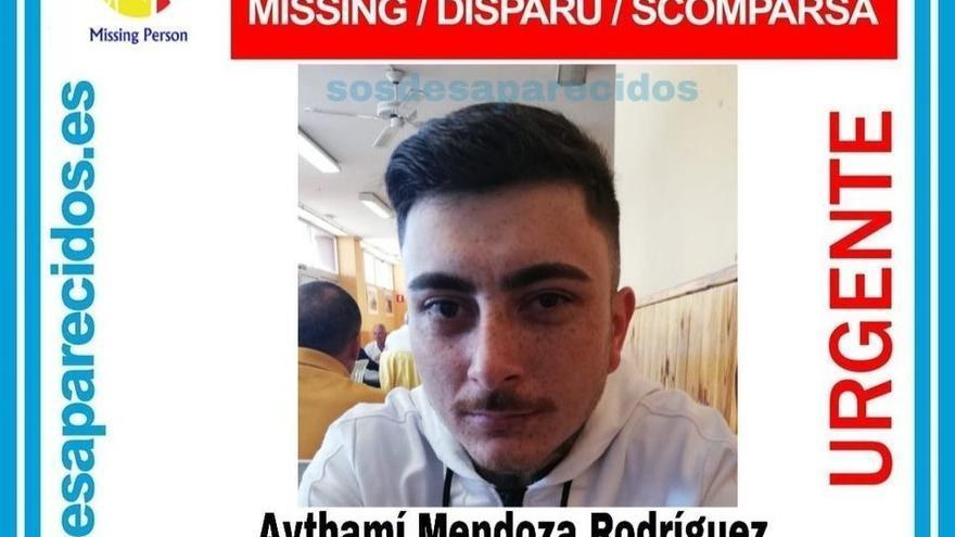 Aythamí Mendoza, desaparecido en Gáldar