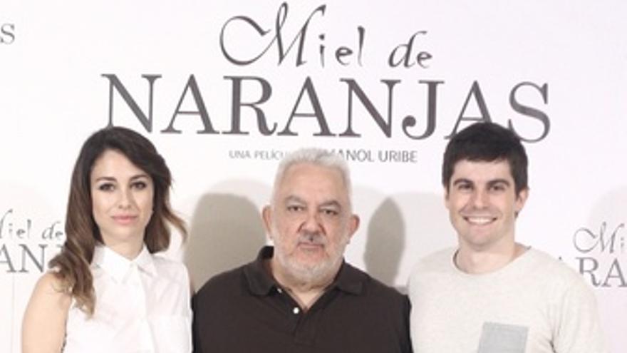 Imanol Uribe presenta Miel de naranjas