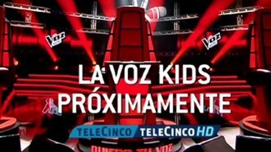 'La Voz Kids' calienta la garganta para su regreso en Telecinco