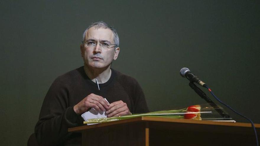 Jodorkovski lanza proyecto para elegir candidato que desafíe a Putin en 2018