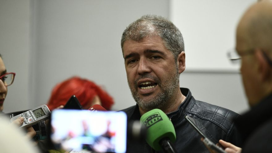 """Sordo dice que no aceptará """"el burladero"""" de un nuevo Estatuto de Trabajadores sin derogar la reforma laboral"""