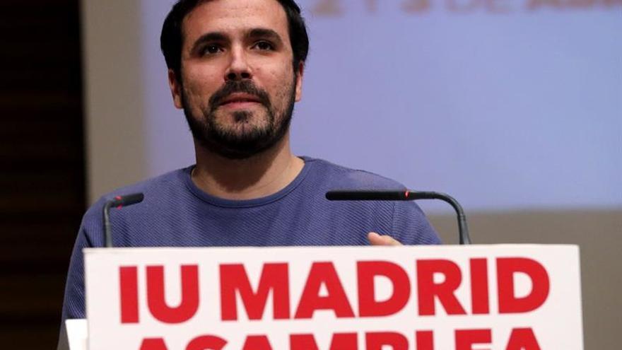 Garzón reabre el debate interno en Podemos a cuenta de la unión de la izquierda