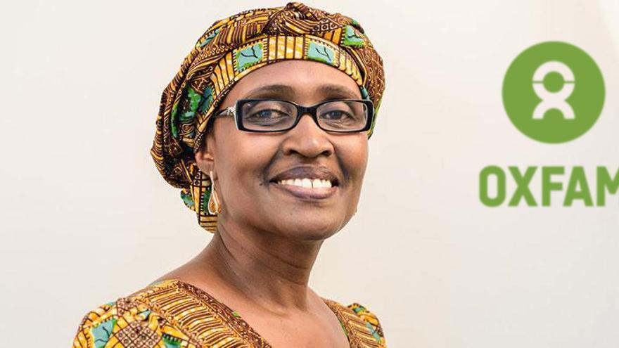 Winnie Byany de Oxima, directora ejecutiva de Oxfam International