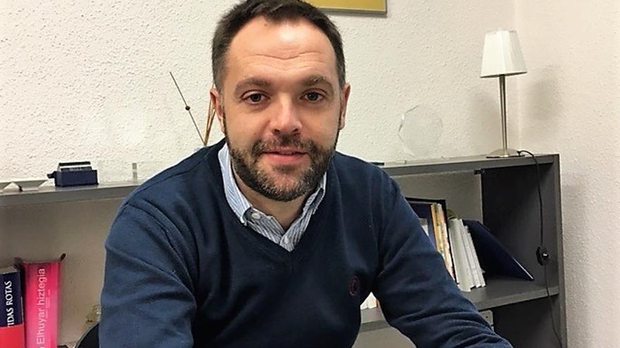 Eduardo Mateo, responsable de Proyectos de la Fundación Fernando Buesa.