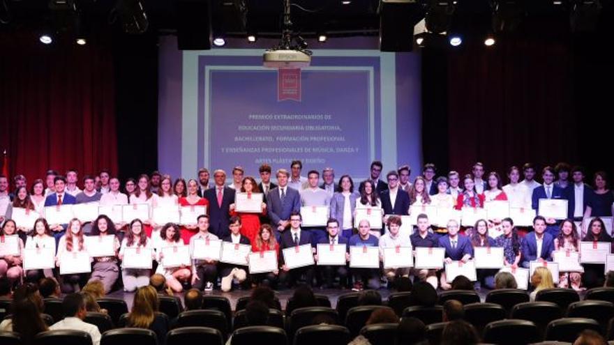 Acto de entrega de los Premios Extraordinarios de Educación de la Comunidad de Madrid.