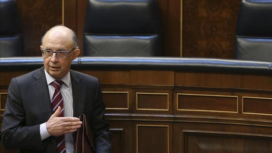Hacienda publicará a finales de mes las balanzas fiscales