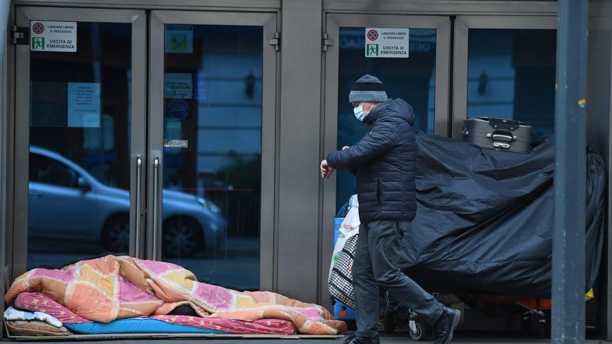 Italia registra 785 muertos por coronavirus pero se sigue aplanando la curva