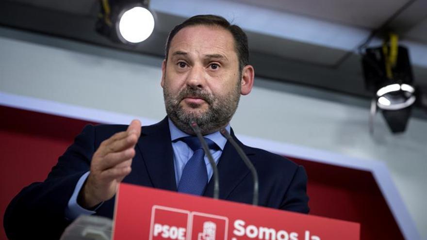 Ábalos (PSOE): Hemos llegado aquí por una operación electoralista del PP