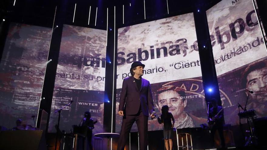 """Sabina se quita el """"nudo"""" de la garganta y lo borda en su Madrid"""