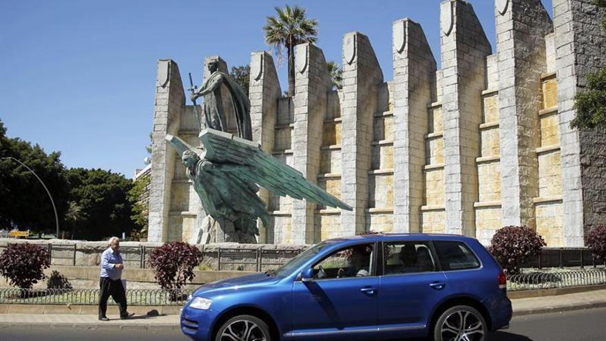 Monumento a Franco en Santa Cruz de Tenerife.