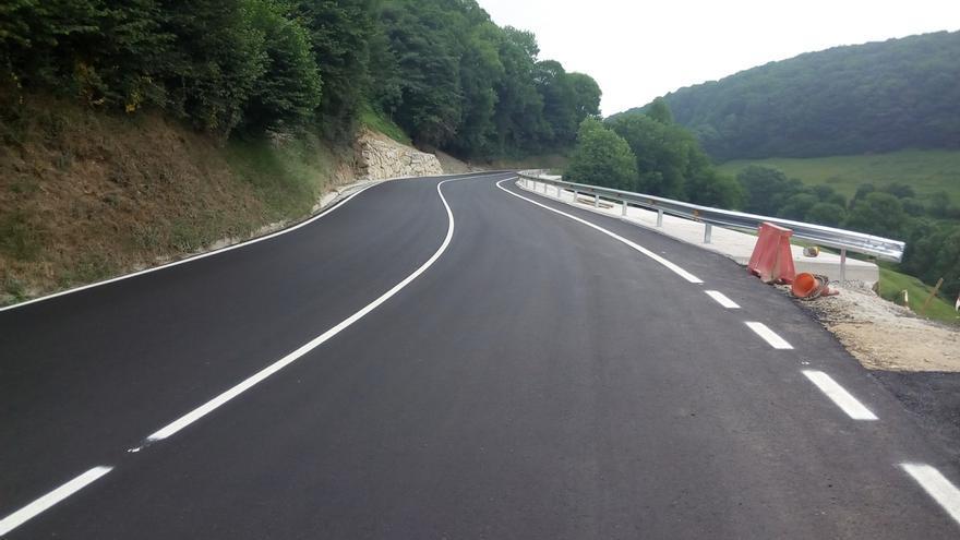 Desarrollo Económico invierte 582.493 euros en la reparación de un tramo de la carretera NA-1300