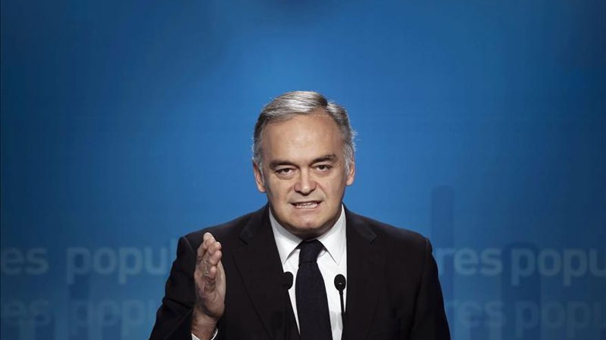 Esteban González Pons, vicesecretario general del Partido Popular. EFE.