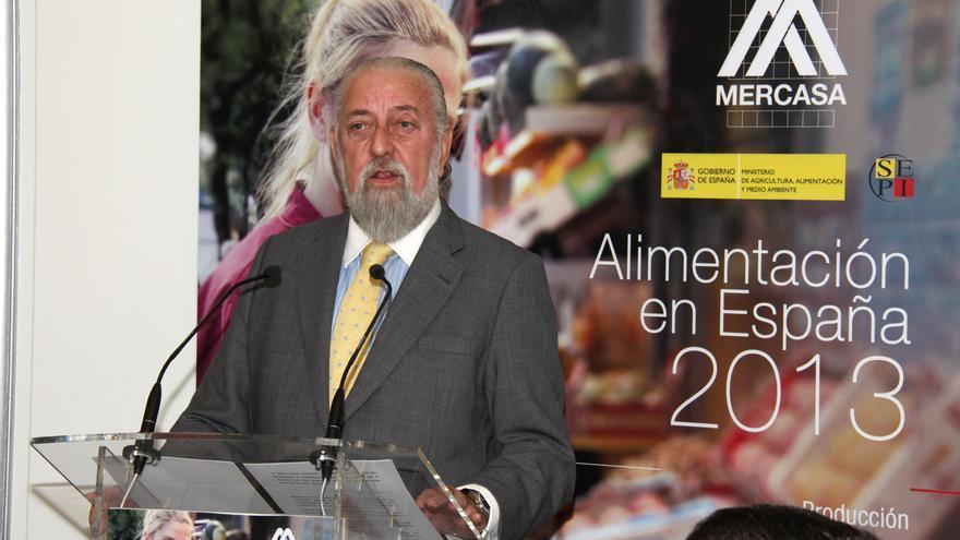 El presidente de Mercasa, Eduardo Amejide. Foto: Ministerio de Agricultura
