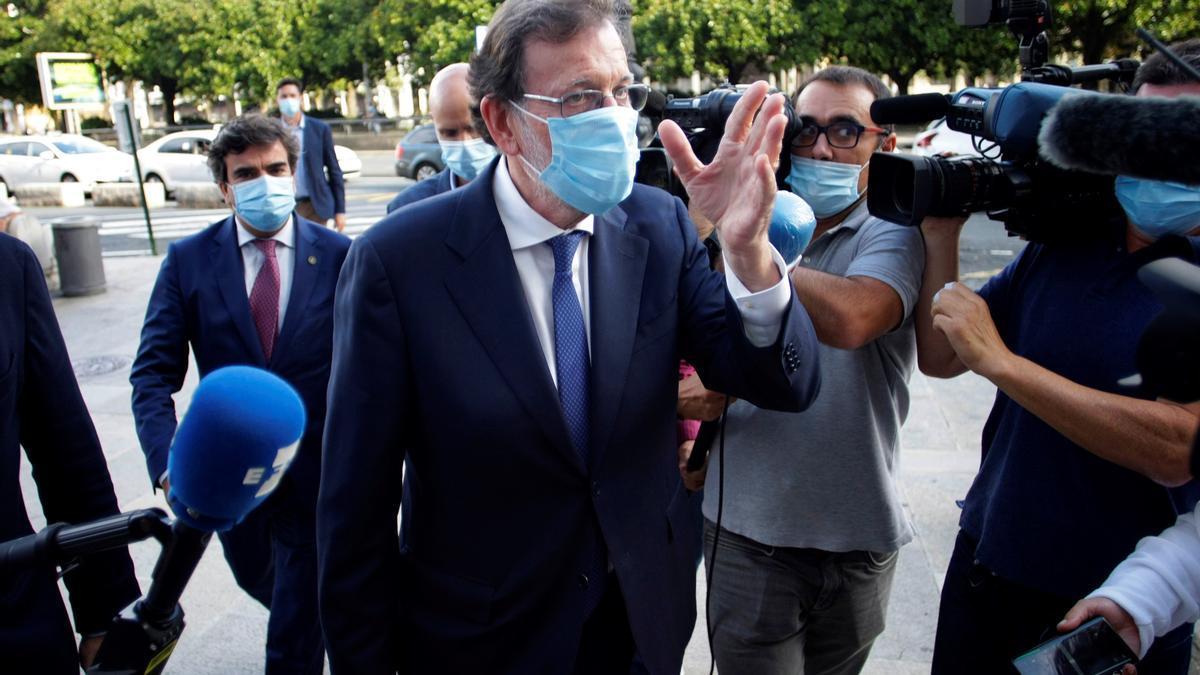 El expresidente del Gobierno Mariano Rajoy. EFE/ Cabalar./Archivo
