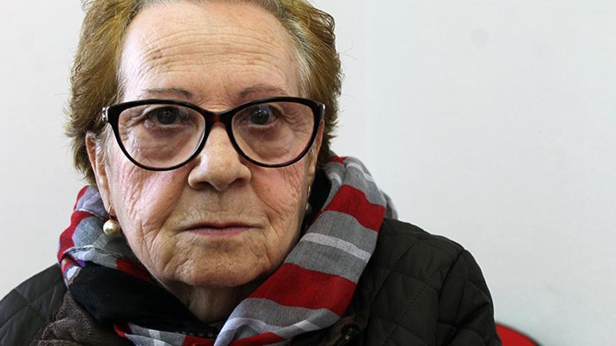 Manuela Díaz, nieta de Antonio Morón. | JUAN MIGUEL BAQUERO