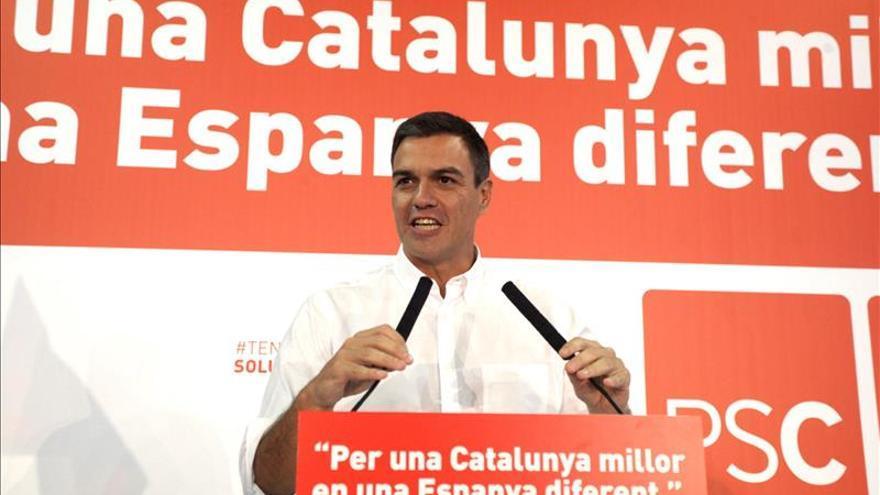 """Sánchez reivindica su catalanismo y pide reconocer la """"singularidad"""" de Cataluña"""