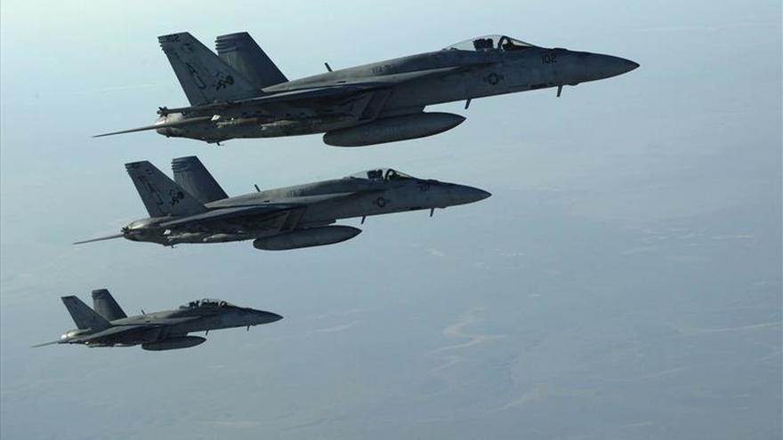 Aviones de la coalición internacional matan a nueve militares iraquíes en Faluya