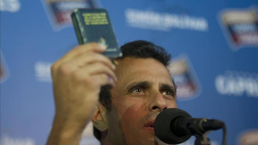 Capriles dice juez a cargo de impugnación de comicios es pariente de ministro