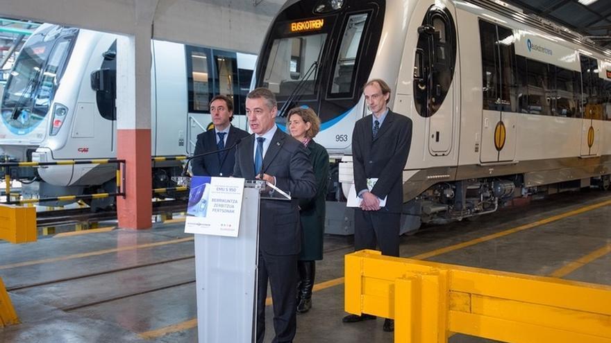 Urkullu reclama la competencia sobre los servicios ferroviarios internos, incluida la Y vasca