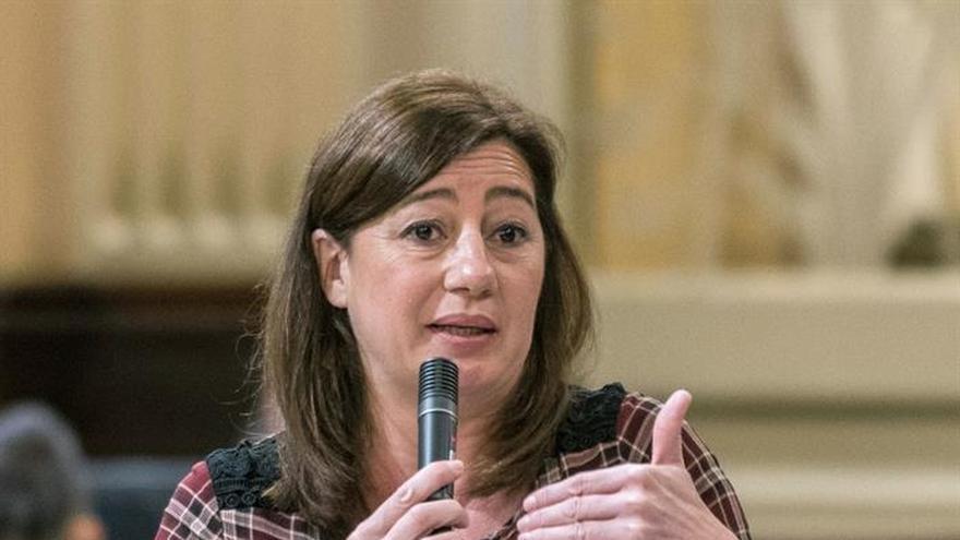 """Armengol sobre la dimisión de Huerta: """"En España las cosas han cambiado"""""""