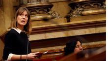 La líder de Catalunya en Comú Podem, Jéssica Albiach.