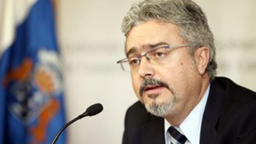 Martín Marrero, portavoz del Gobierno de Canarias. (ACFI PRESS)