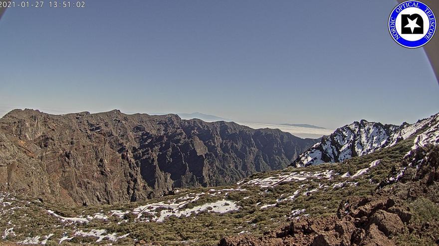 Baja probabilidad de calima ligera  este jueves en La Palma