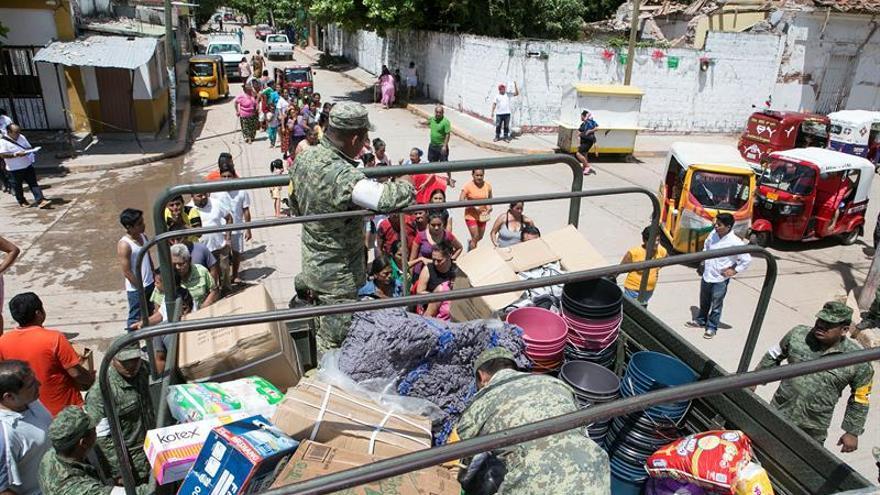 """Afectados por el sismo cambian el grito de independencia por uno de """"desesperación"""""""