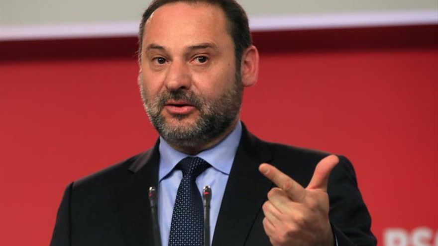 El ministro de Fomento en funciones, José Luis Ábalos. |