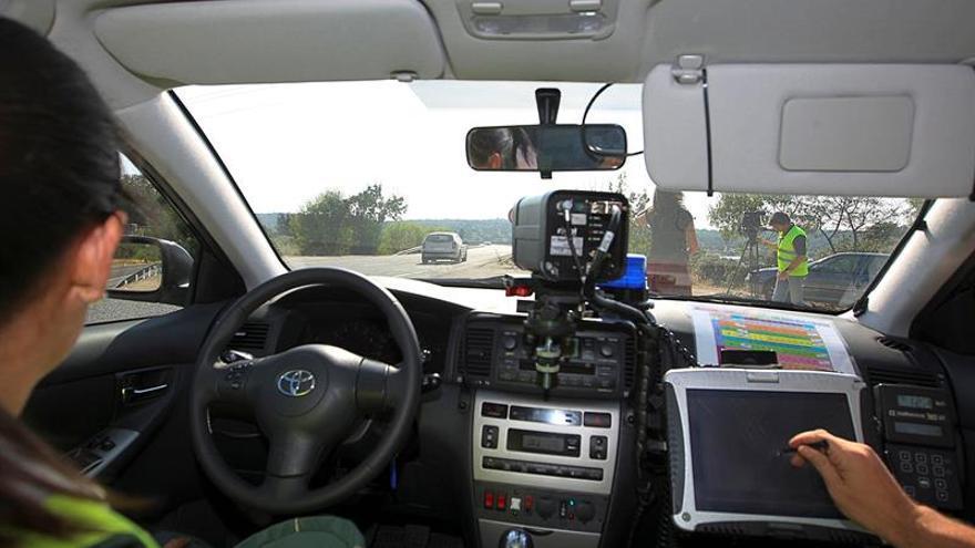 Casi 25.000 denuncias de tráfico en una semana, la mayoría por velocidad