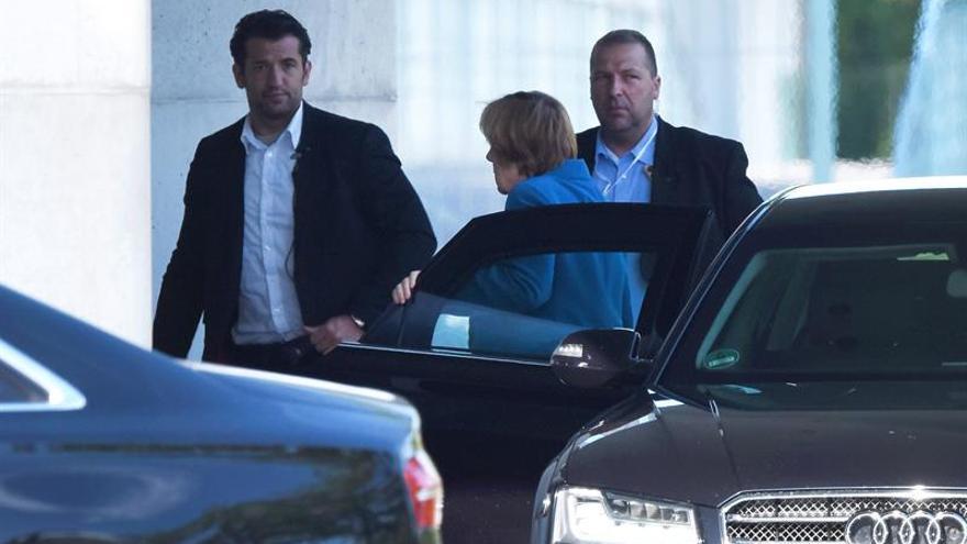 Merkel hará una comparecencia institucional tras la reunión del gabinete de seguridad