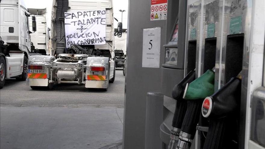 Los carburantes de automoción suben antes del puente de diciembre