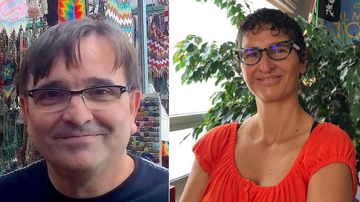 Antonio Campillo y Alice Poma