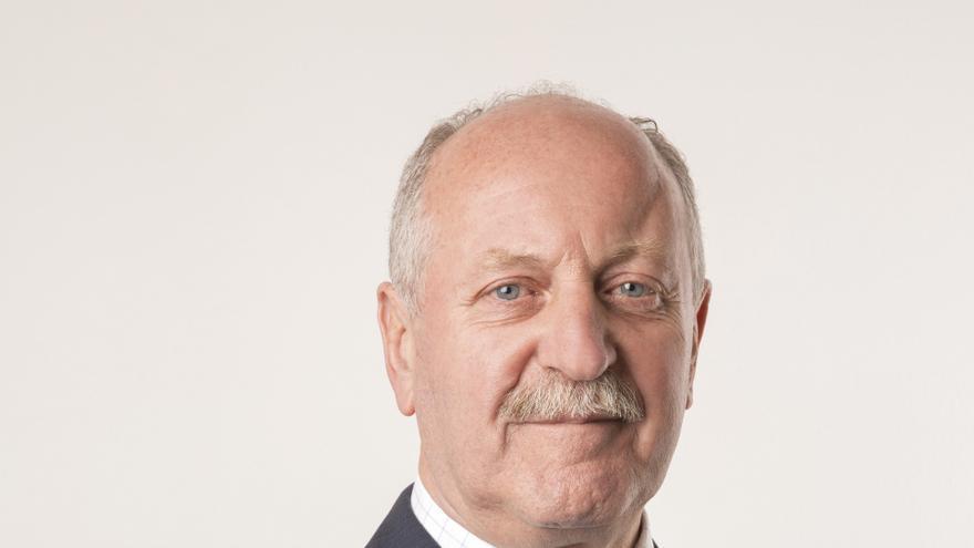 José Miguel Barrio (PRC), candidato a la reelección como alcalde de Reinosa.