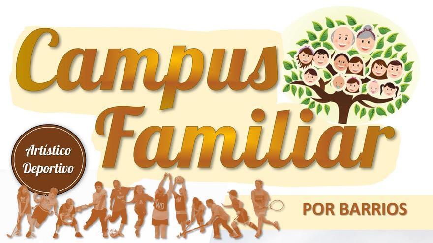 Cartel del llamado Campus Familiar.