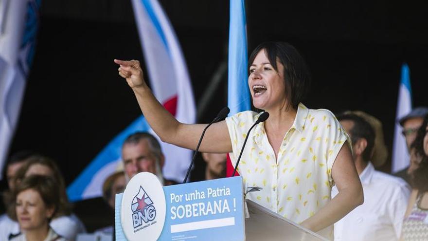 El BNG reivindica ante miles de personas una vía nacionalista para Galicia