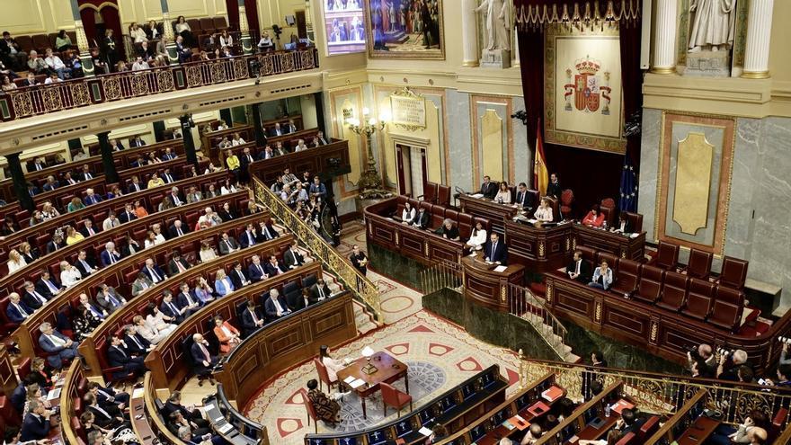 PSOE y Podemos imponen un reparto del hemiciclo del Congreso con Cs a la derecha, PNV en primera fila y Vox al gallinero
