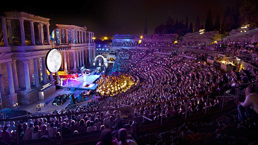 El Festival Internacional de Teatro Clásico de Mérida celebra en 2017 su 63ª edición con un éxito absoluto de público.