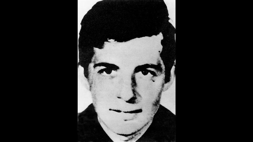 Salvador Puig Antich, el último preso político ejecutado a garrote vil por el franquismo.